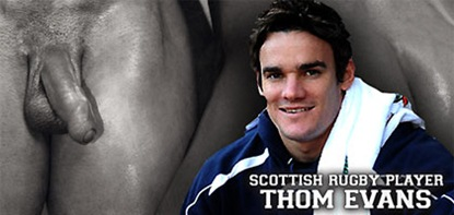 ruggerbugger - thom evans and his xl cock
